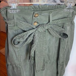 Brand New Abercrombie olive green pants